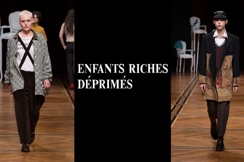 """ENFANTS RICHES DÉPRIMÉS"" 18AW COLLECTION"