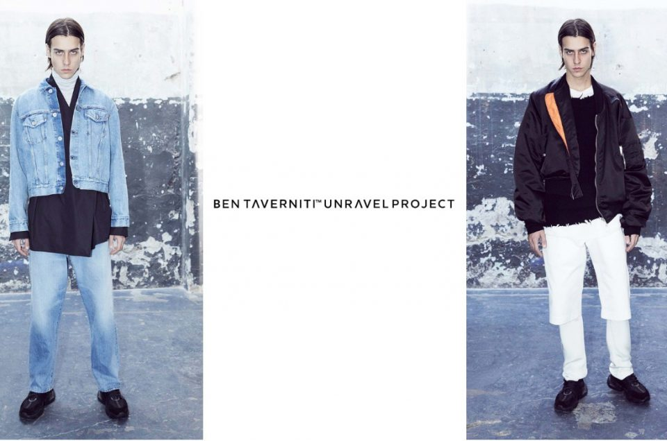 """BEN TAVERNITI UNRAVEL"" 2018AW COLLECTION"