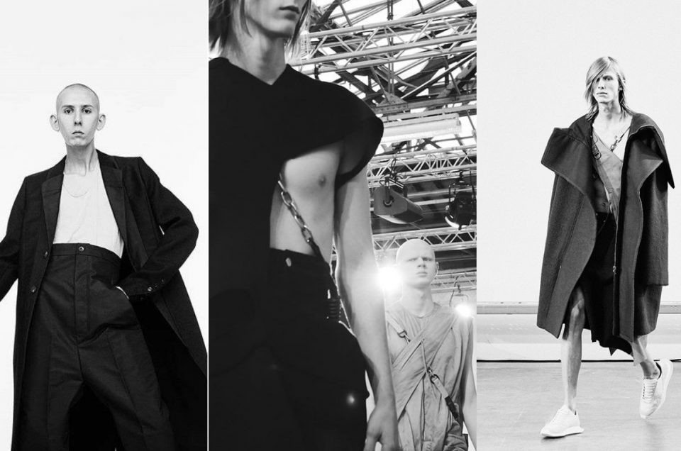 """RICK OWENS"" 2018AW COLLECTION"