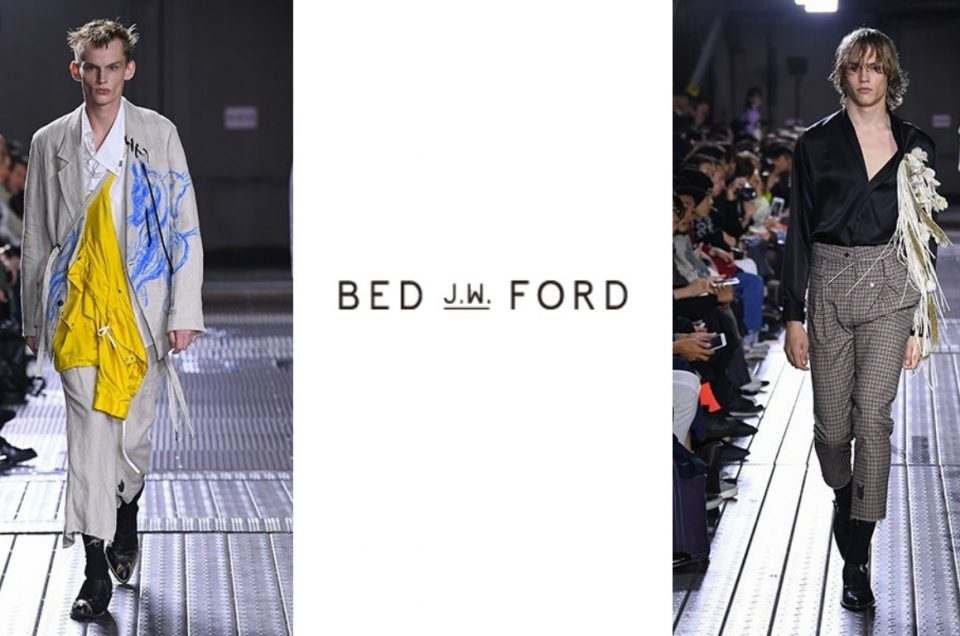 """BED J.W. FORD"" 2019SS COLLECTION"