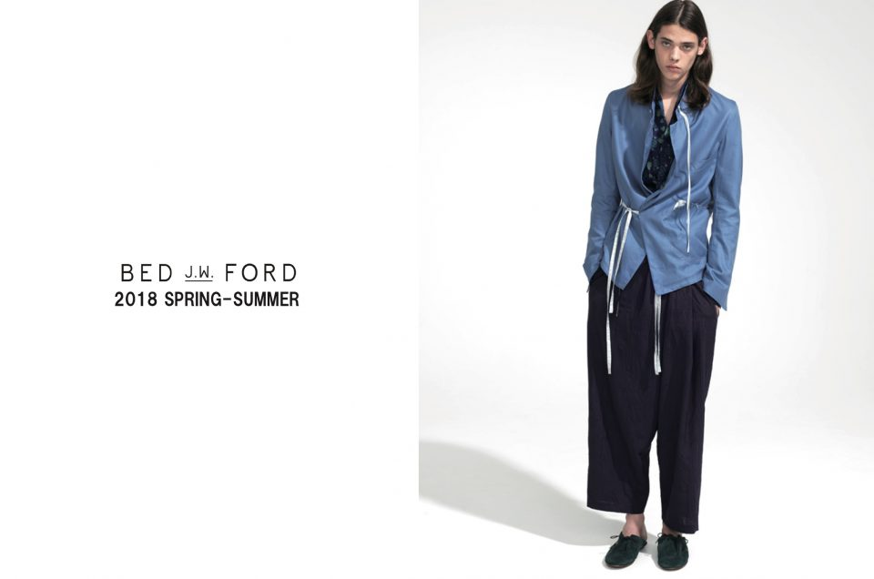 ''BED J.W. FORD'' 2018 SS NEW COLLECTION.