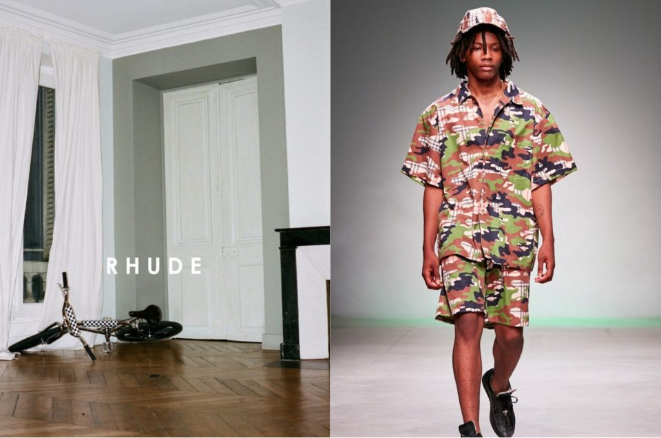 """RHUDE"" ""LANDLORD"" 2018SS COLLECTION"